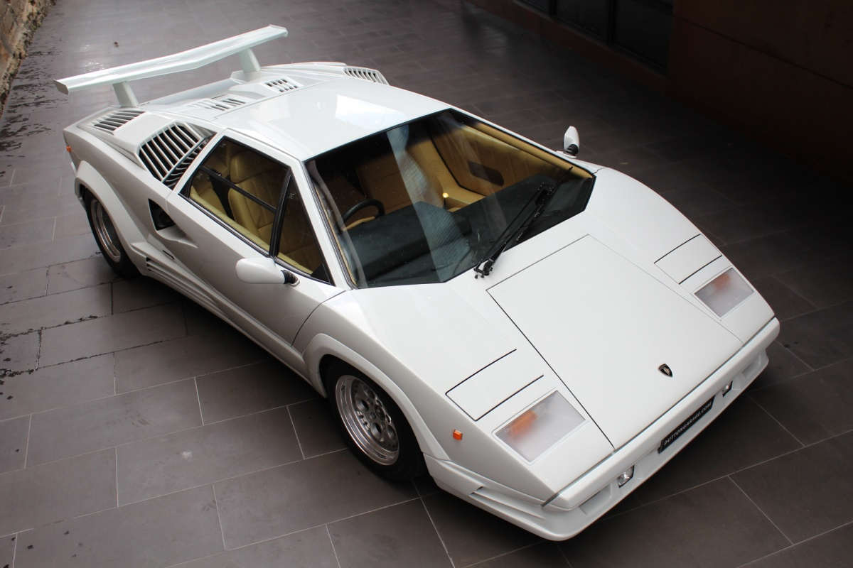 Detail On 1989 Lamborghini Countach Anniversary